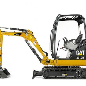1 Tonne CAT 301.7D Mini Excavator 300x300 - SERVICE