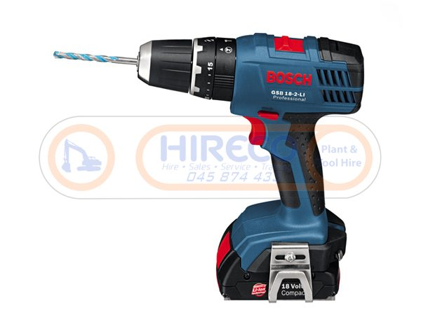 18V Battery Drill for hire or sale - Hireco Plant and Tool - www.hirecopt.ie