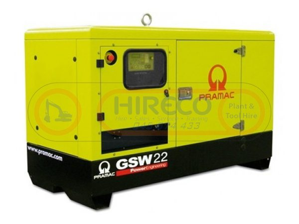 22kVA Generator for hire or sale - Hireco Plant and Tool - www.hirecopt.ie