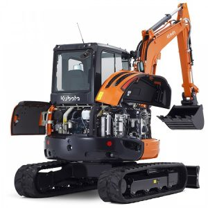 Kubota U48-4-Excavator for Hire or Sale - Hireco Plant and Tool - www.hirecopt.ie