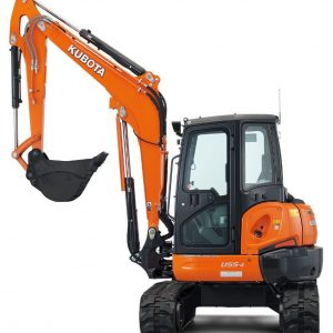 5 Tonne Kubota Excavator for Hire or Sale - Hireco Plant and Tool - www.hirecopt.ie