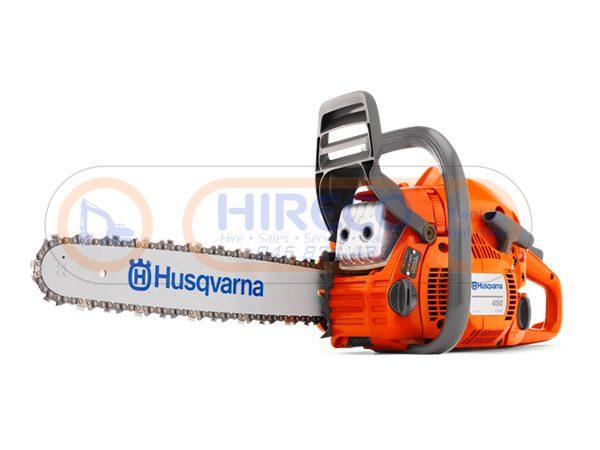 Husqvarna 450E Chainsaw 600x450 - Husqvarna 450E Chainsaw