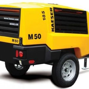 Kaeser M50 185 CFM Compressor for Hire or Sale - Hireco Plant and Tool - www.hirecopt.ie