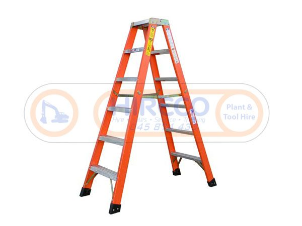 Ladders for hire or sale - Hireco Plant and Tool - www.hirecopt.ie