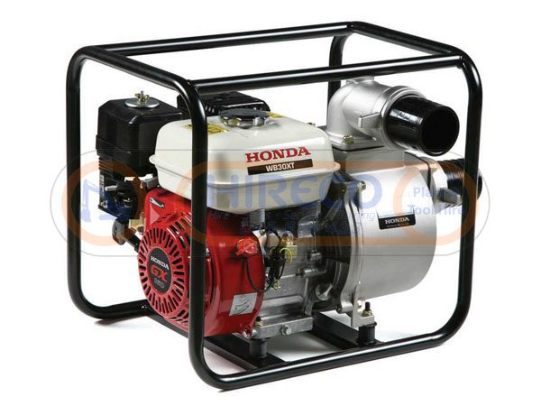 "three inch petrol water pump 600x450 - Honda 3"" Petrol Water Pump"