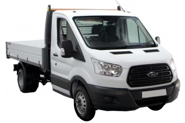 Ford Transit 3.5 Tonne Tipper Truck - Hireco Plant and Tool - www.hirecopt.ie