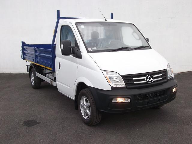 LDV 3.5 Tonne Tipper Truck Hireco Plant and Tool www.hirecopt.ie  - HOME
