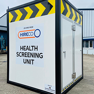 COVID-19 Mobile Health Screening Units